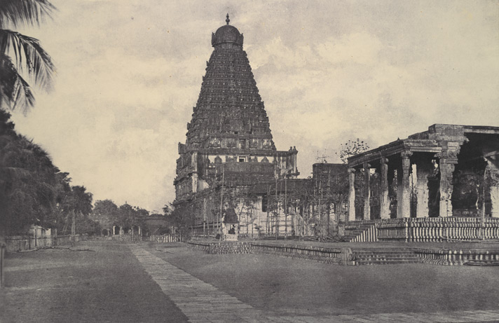 The central tower of the Great Pagoda [Brihadishvara Temple, Thanjavur]